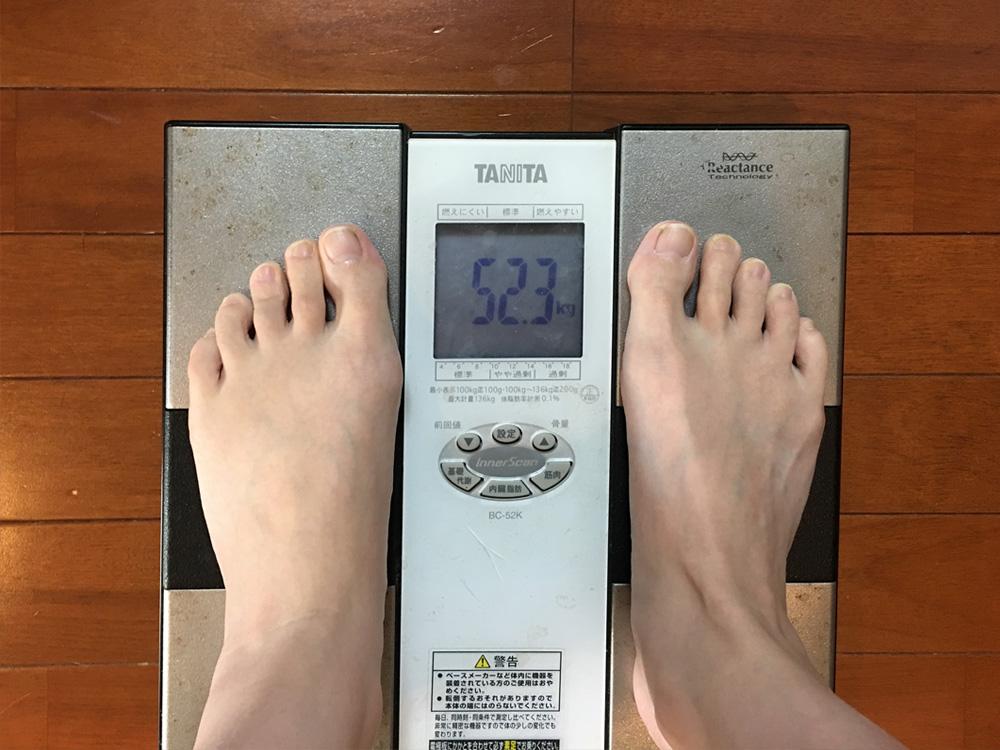 2月11日(土)今朝の体重