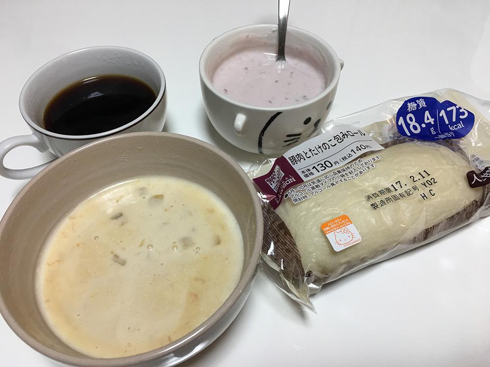 2月11日(土)朝ご飯