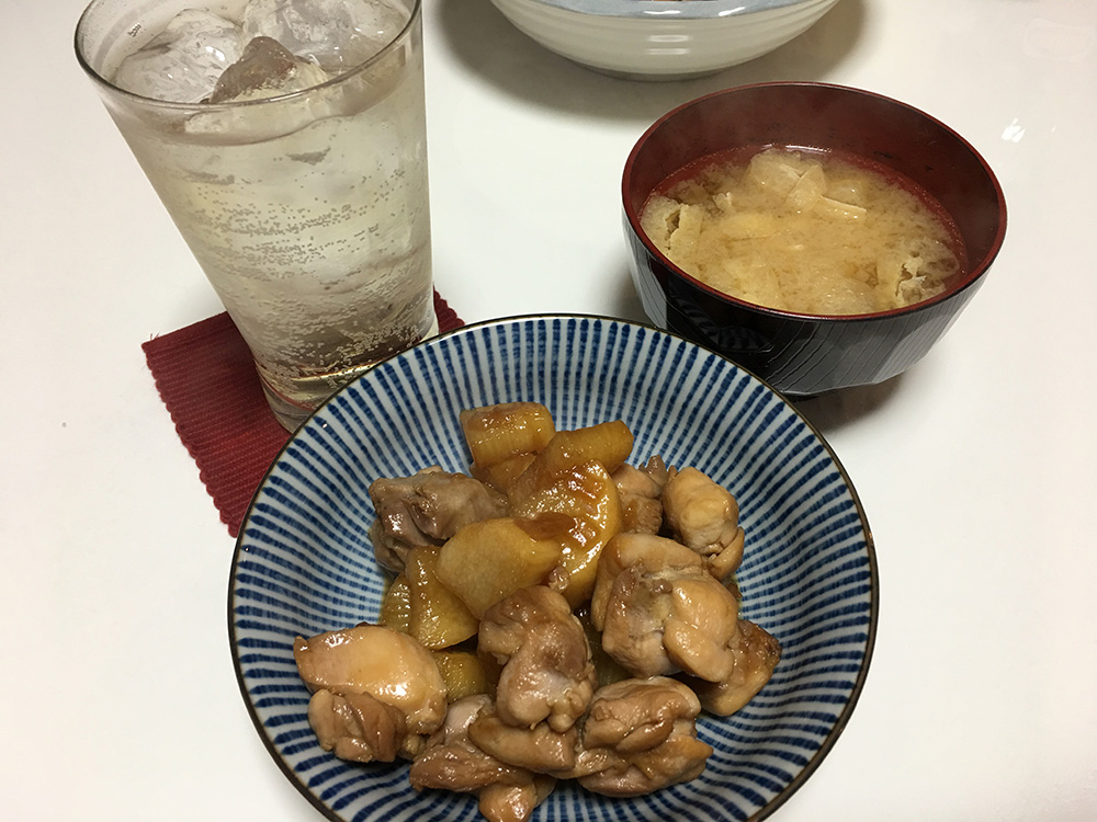 2月14日(火)晩ご飯