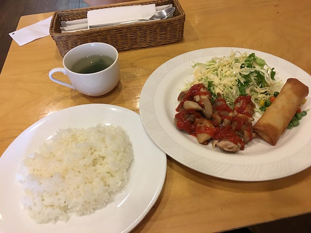 2月16日(木)昼ご飯