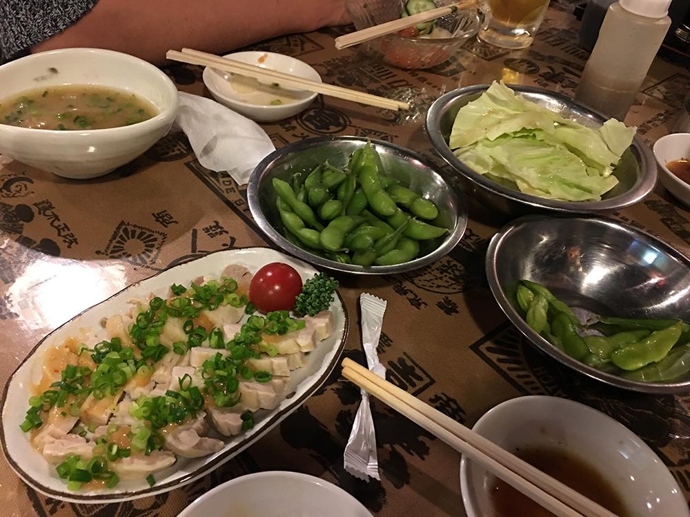 2月18日(土)晩ご飯