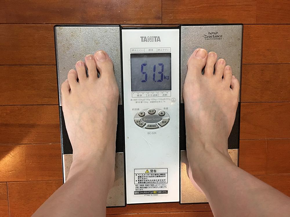 2月24日(金)今朝の体重