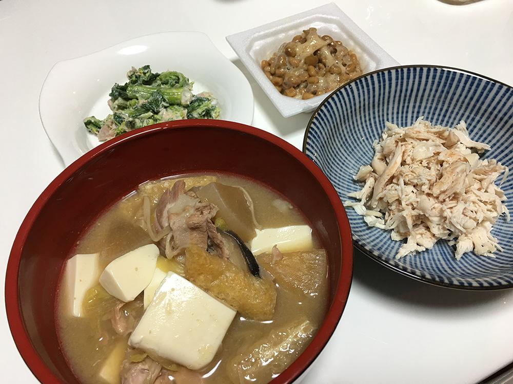 2月25日(土)昼ご飯