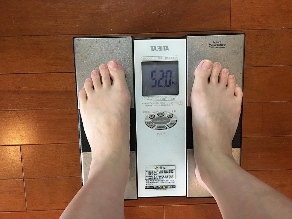 2月27日(月)今朝の体重