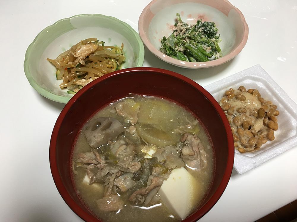 3月3日(金)晩ご飯