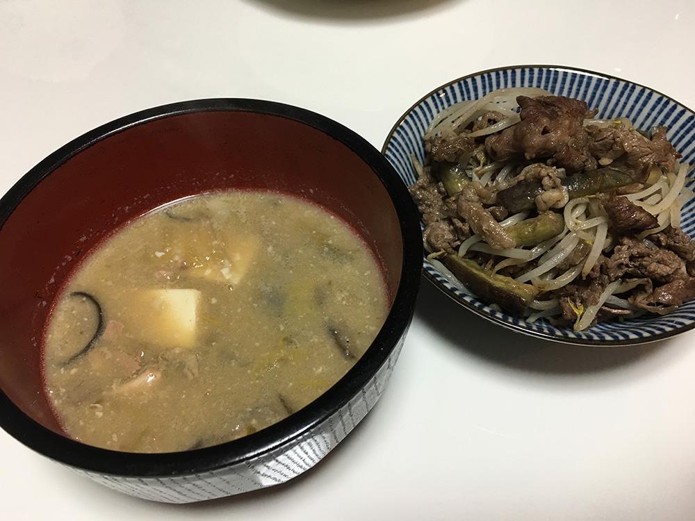 3月5日(日)晩ご飯