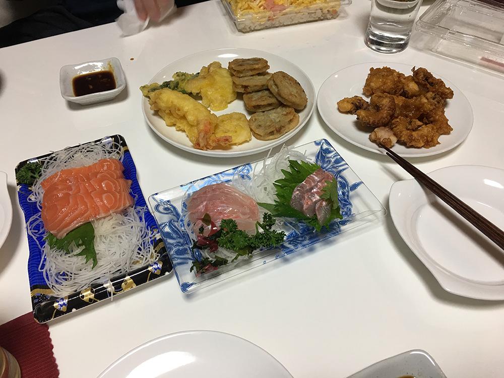 3月19日(日)晩ご飯