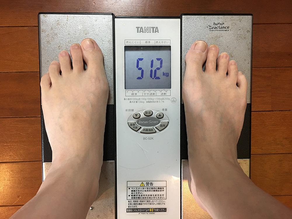 3月22日(水)今朝の体重