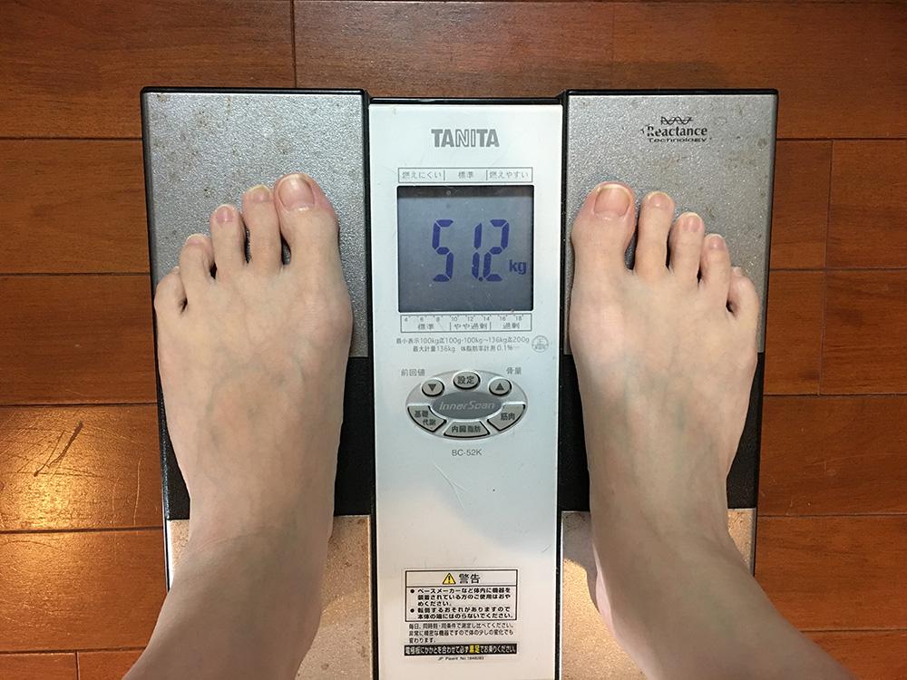 3月26日(日)今朝の体重