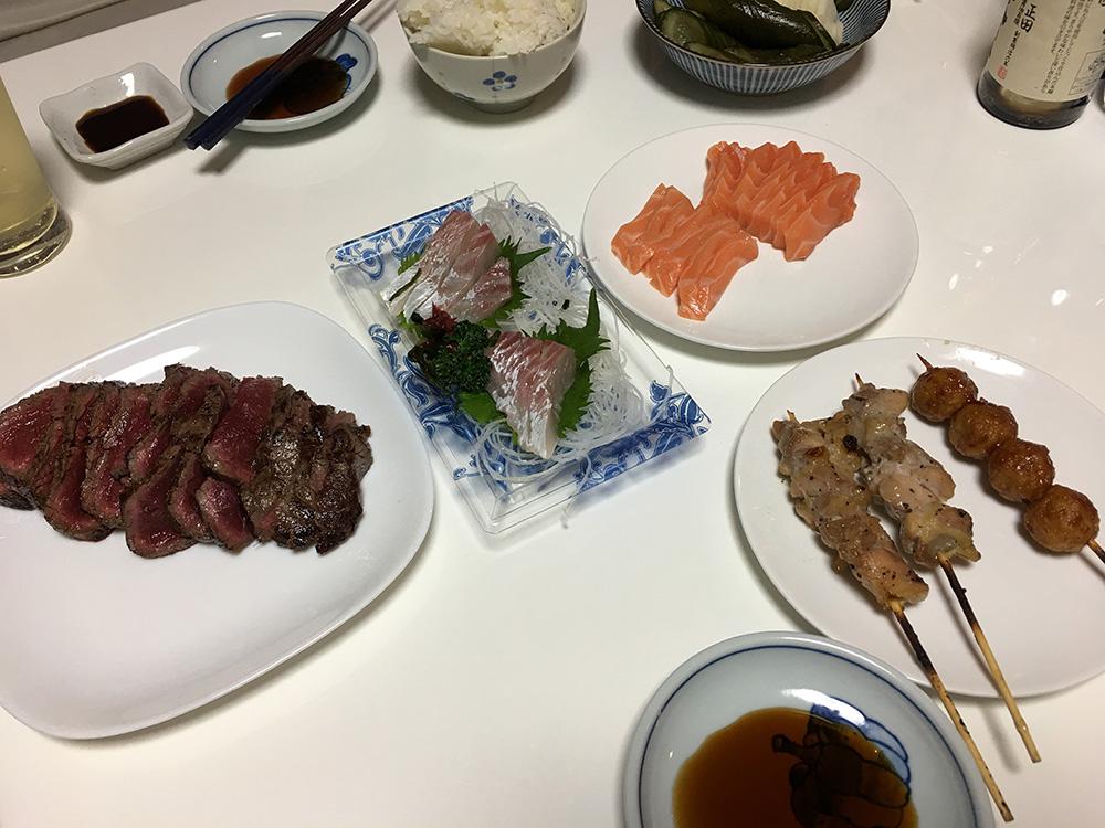 3月25日(土)晩ご飯