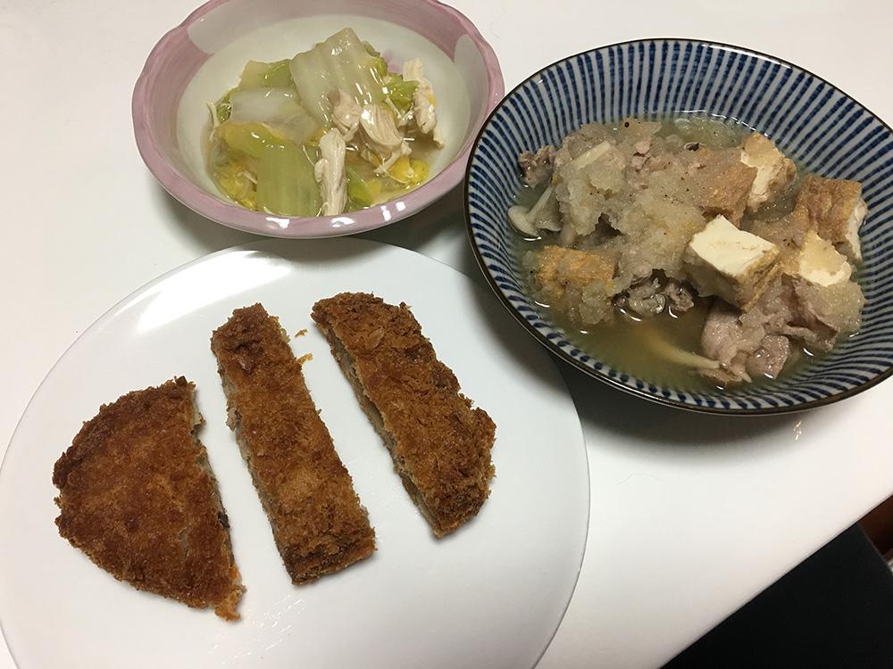 3月31日(金)夜ご飯
