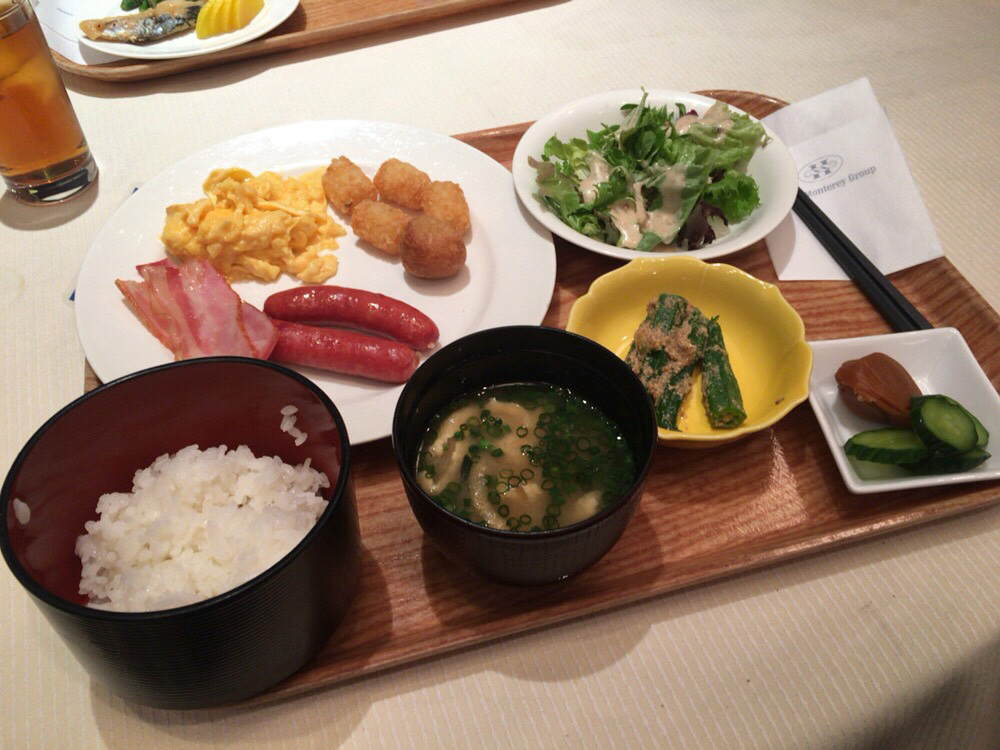 4月2日(日)朝ご飯