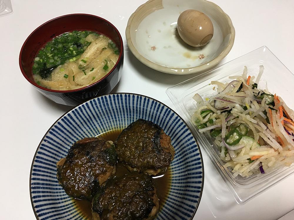 4月20日(木)夜ご飯