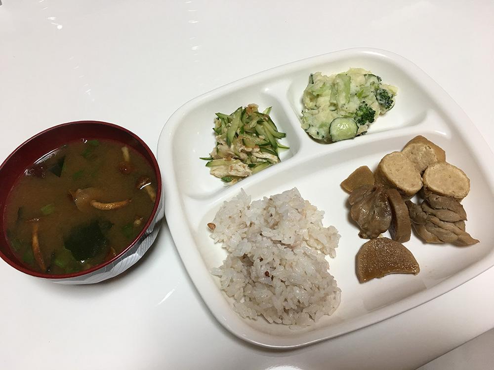 4月25日(火)昼ご飯