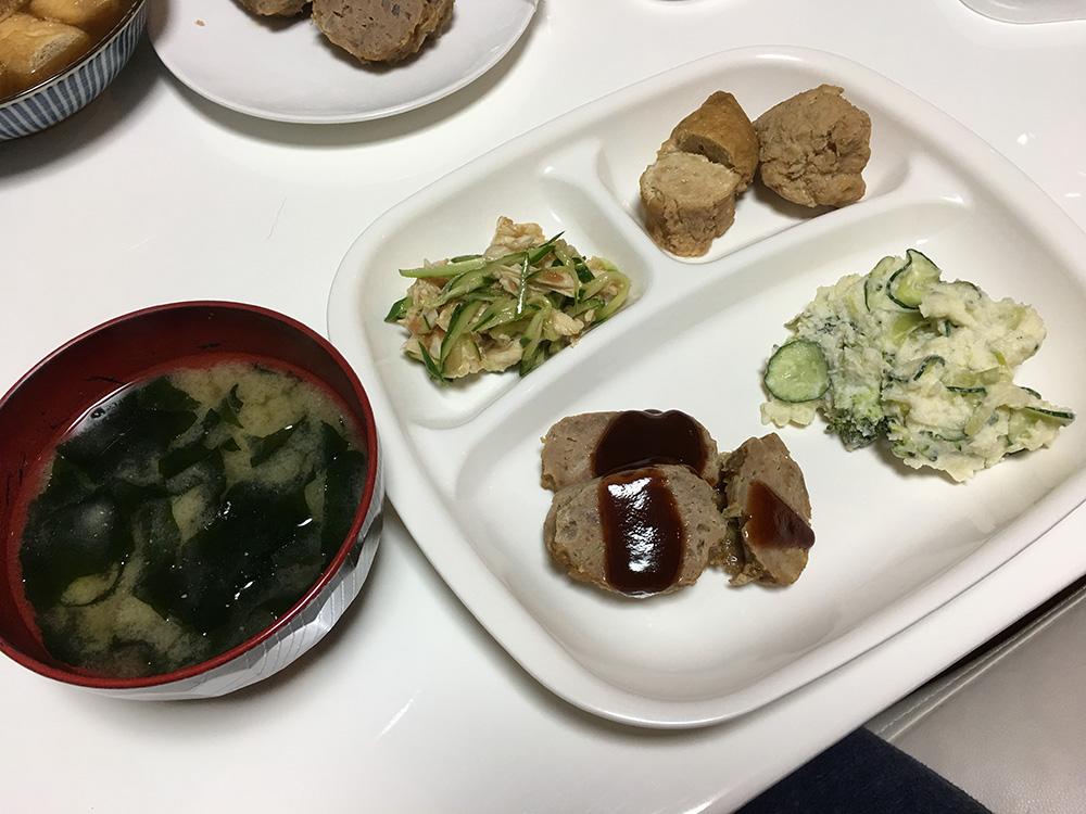 4月25日(火)夜ご飯