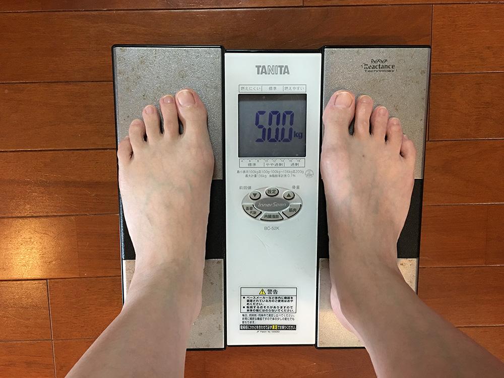 4月27日(木)今朝の体重