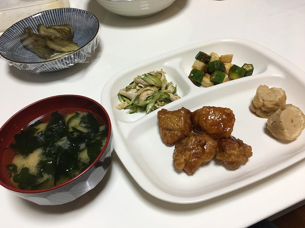 4月26日(水)夜ご飯