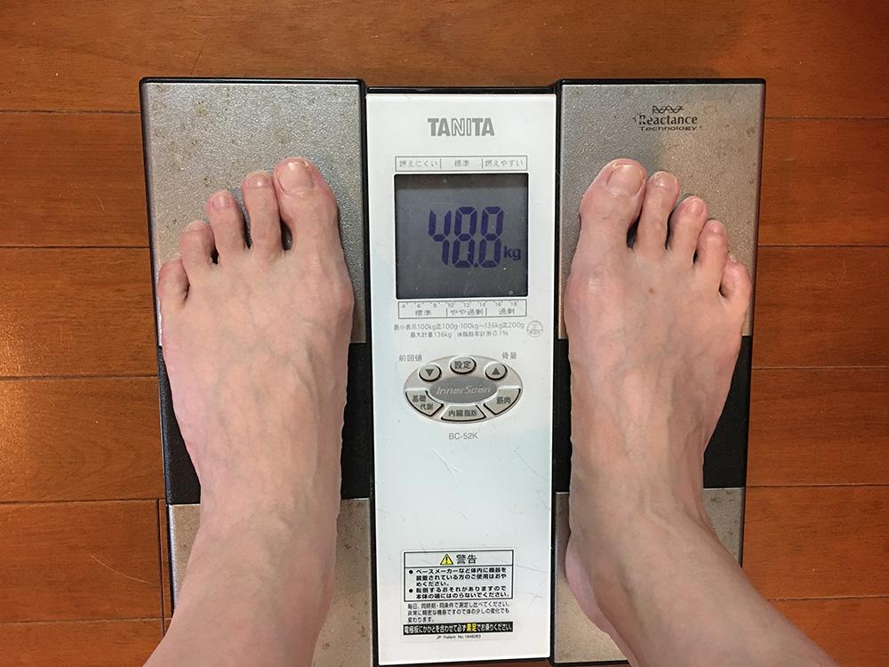 5月4日(木)今朝の体重