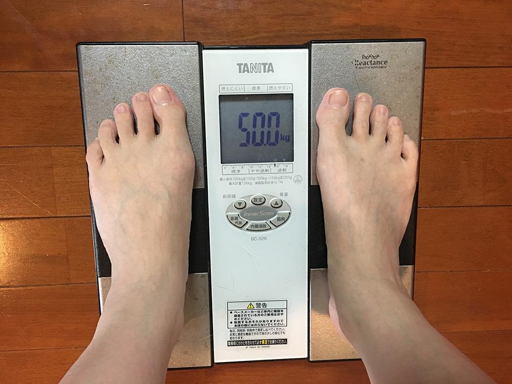 5月10日(水)今朝の体重