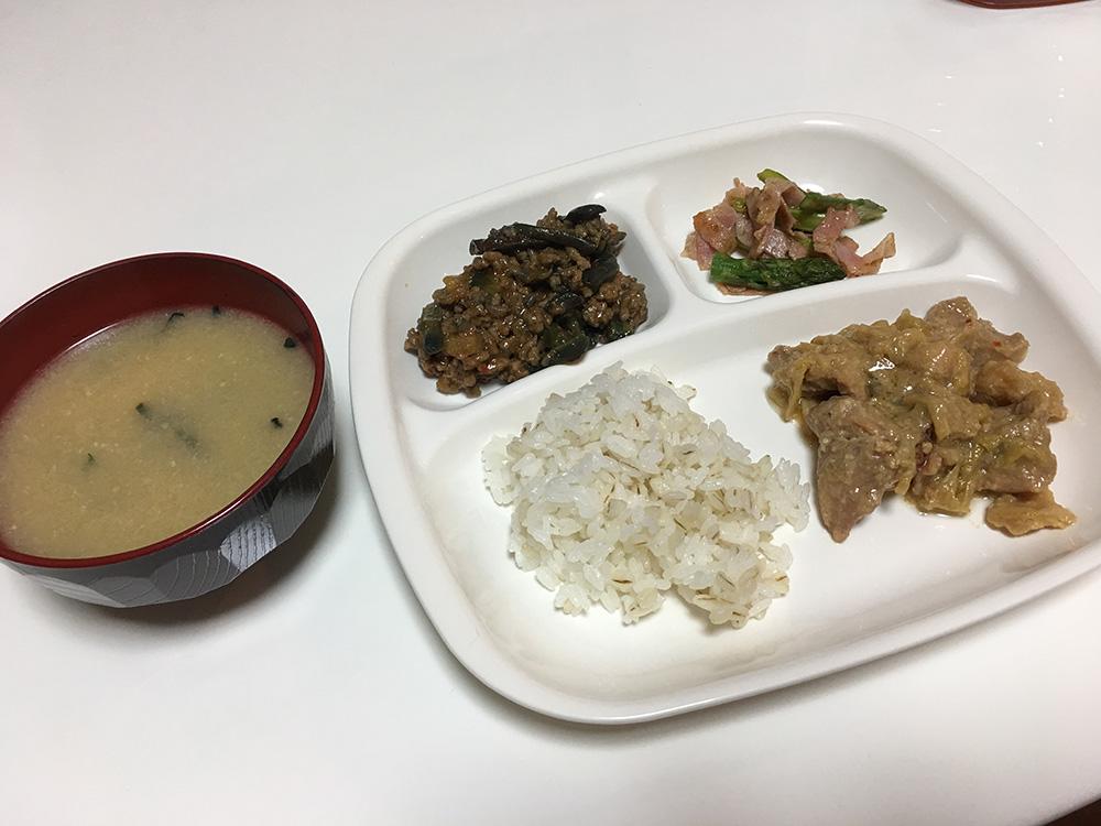 5月10日(水)昼ご飯