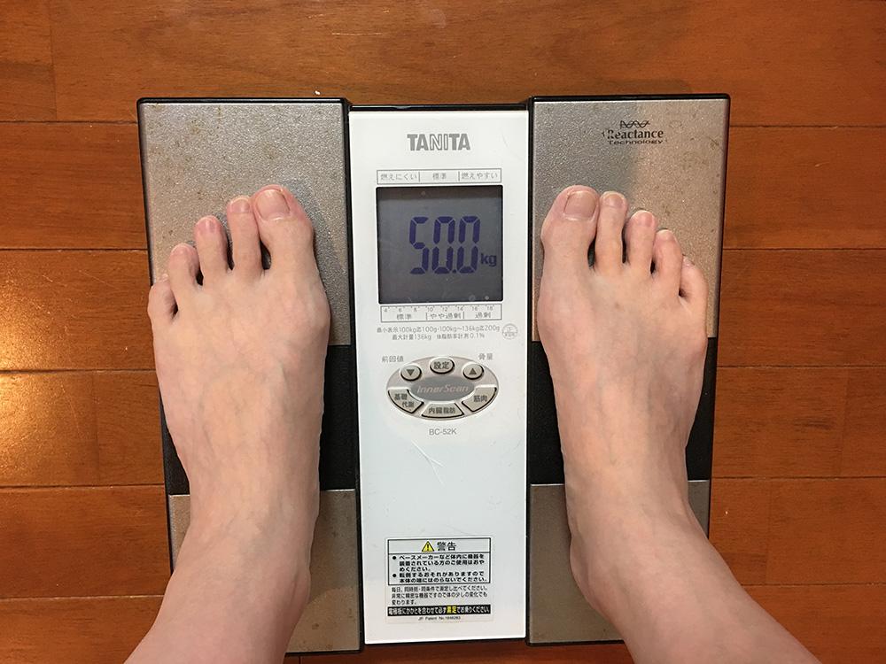 5月13日(土)今朝の体重