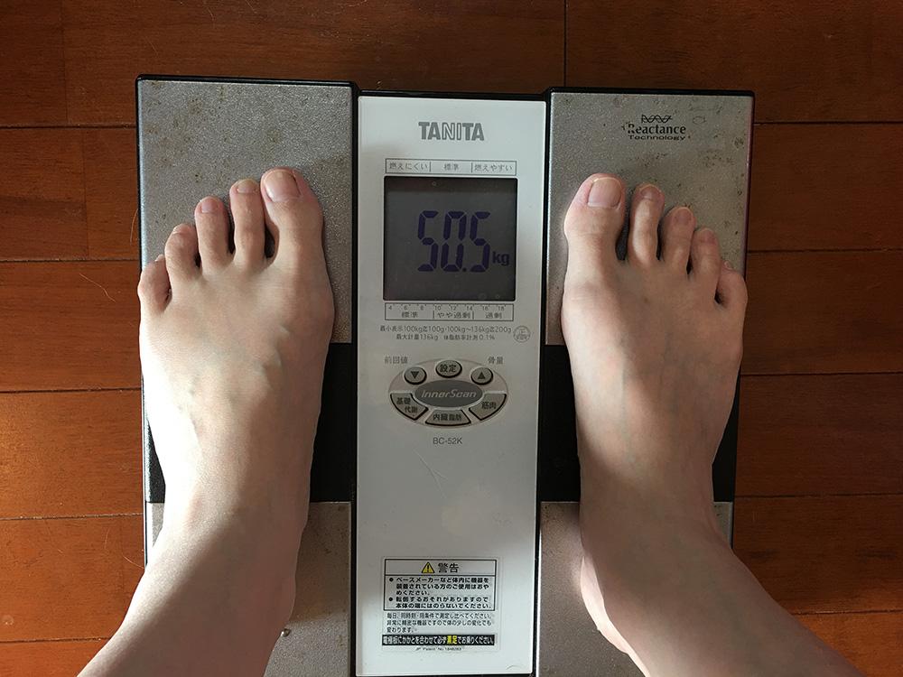 5月19日(金)今朝の体重