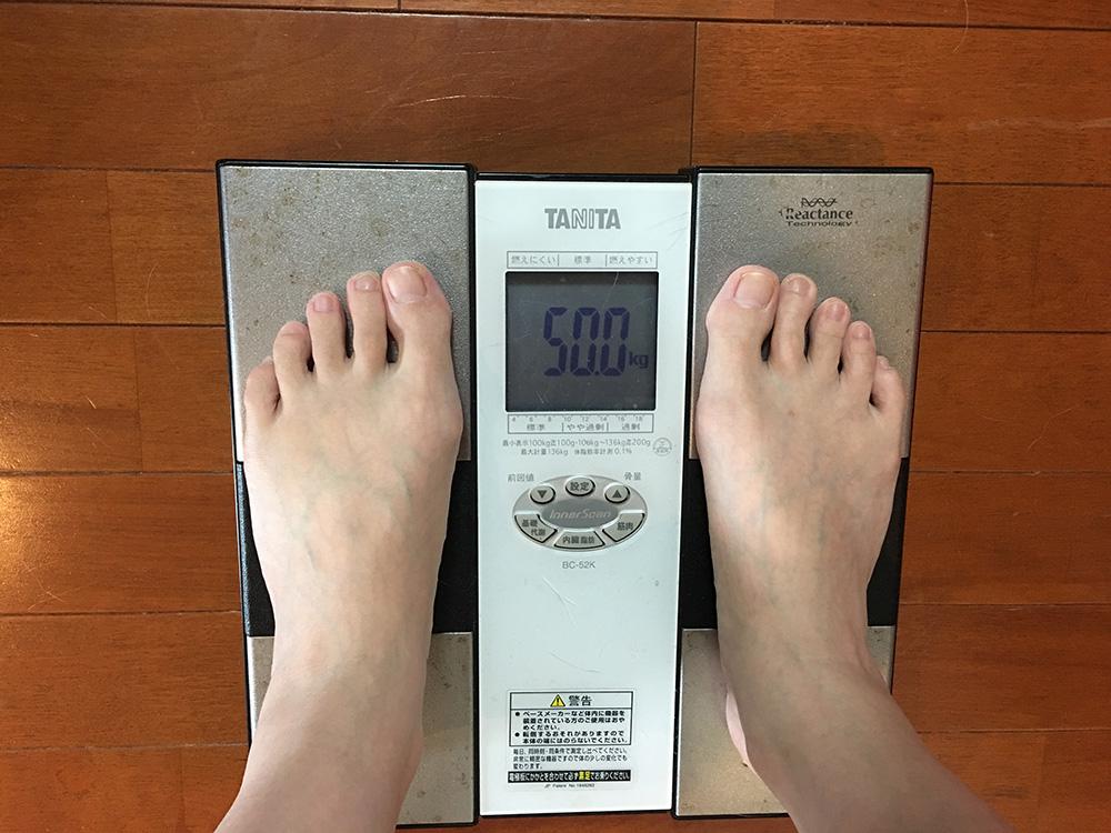 5月25日(木)今朝の体重