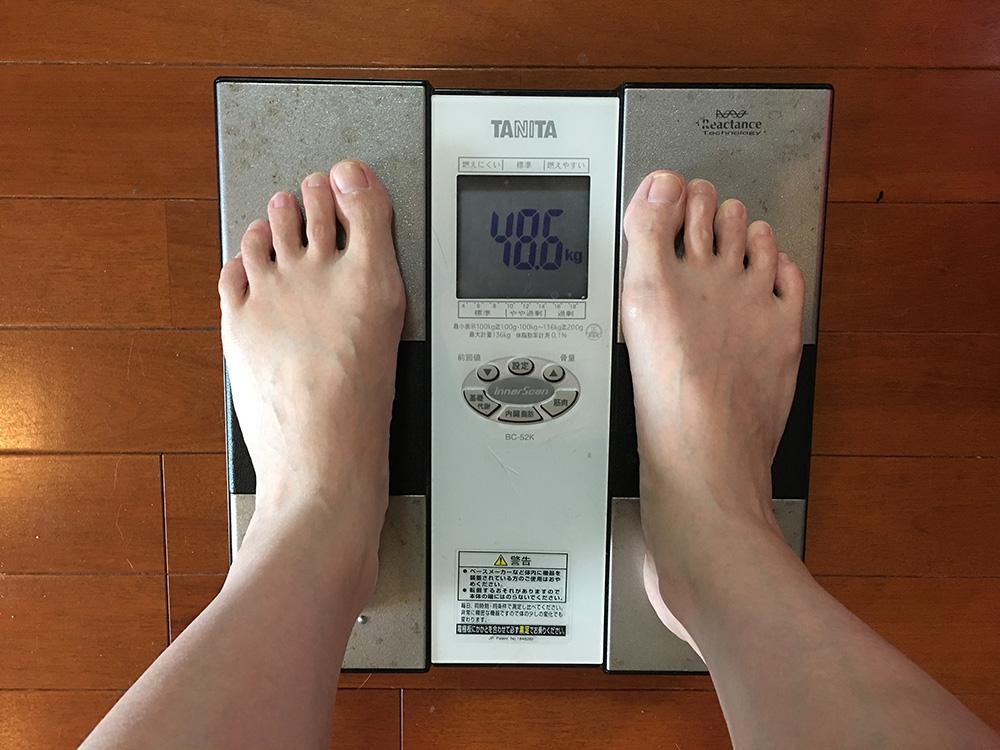 5月29日(月)今朝の体重