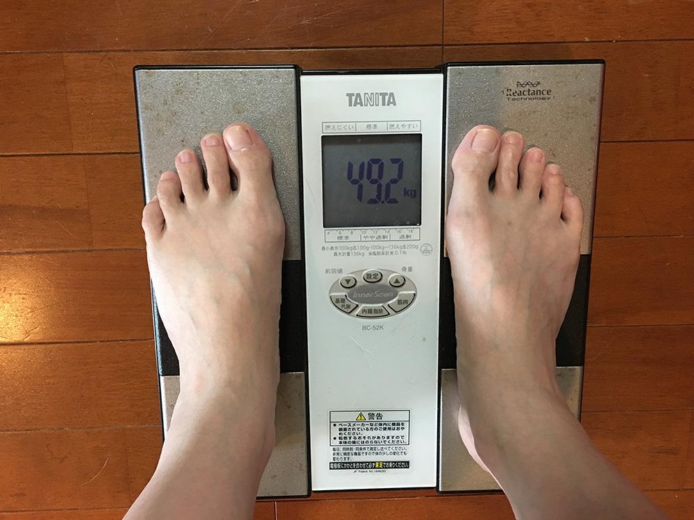 5月30日(火)今朝の体重