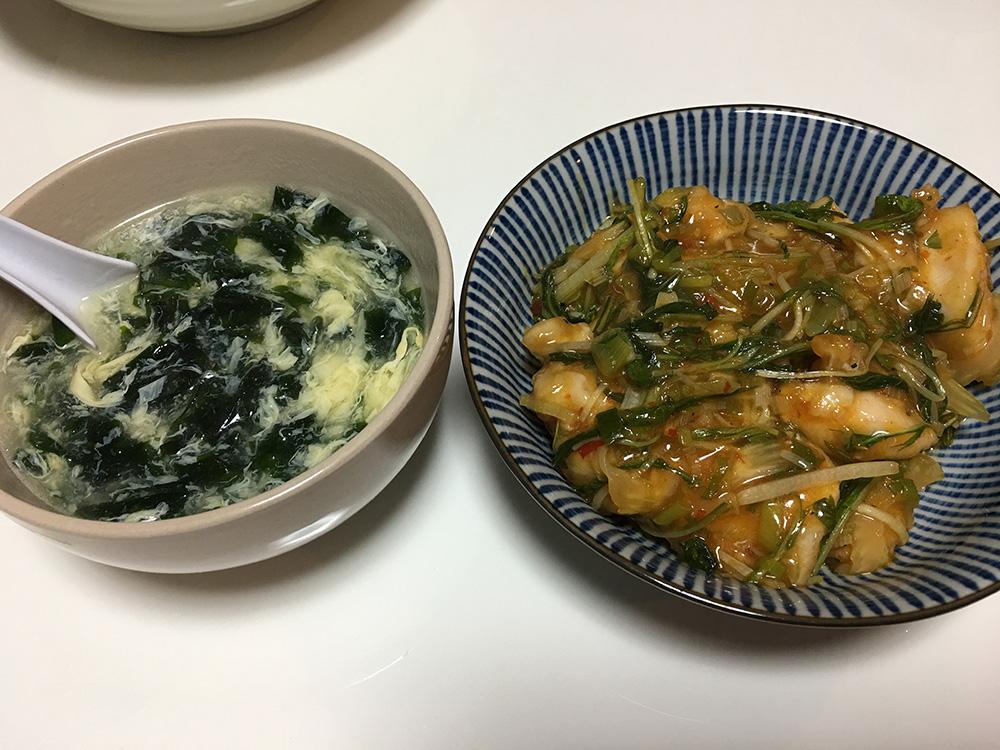 5月31日(水)夜ご飯