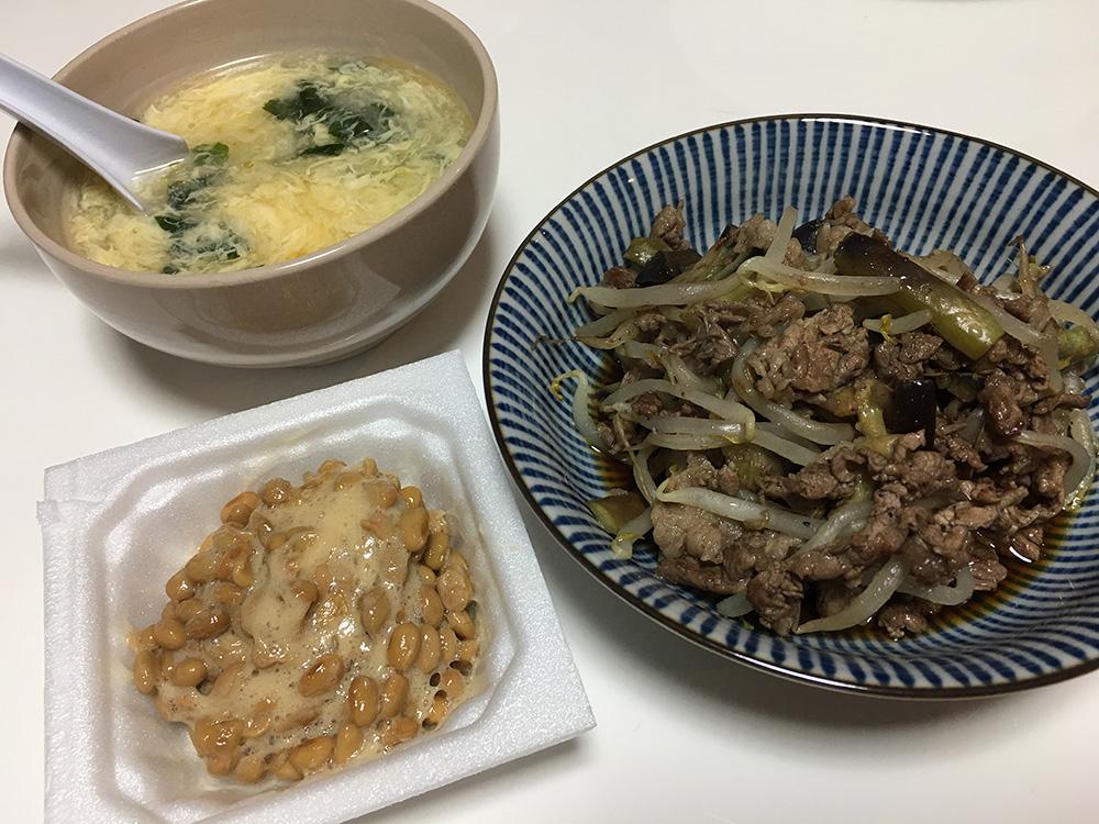 6月2日(木)夜ご飯