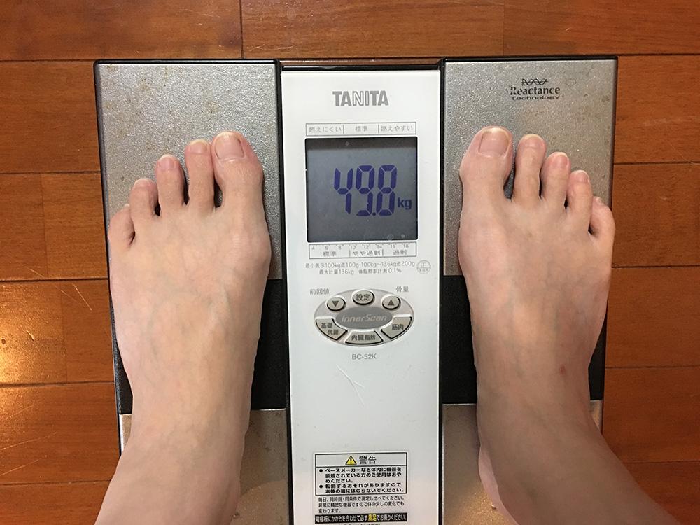 6月21日(水)今朝の体重