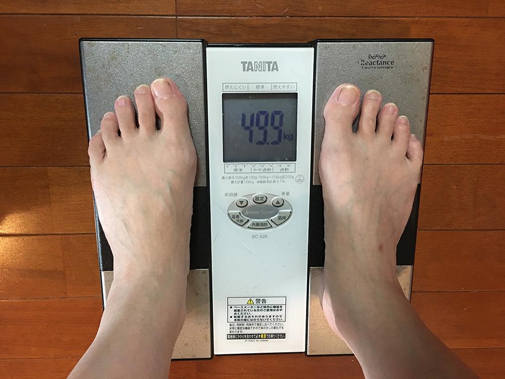6月22日(木)今朝の体重