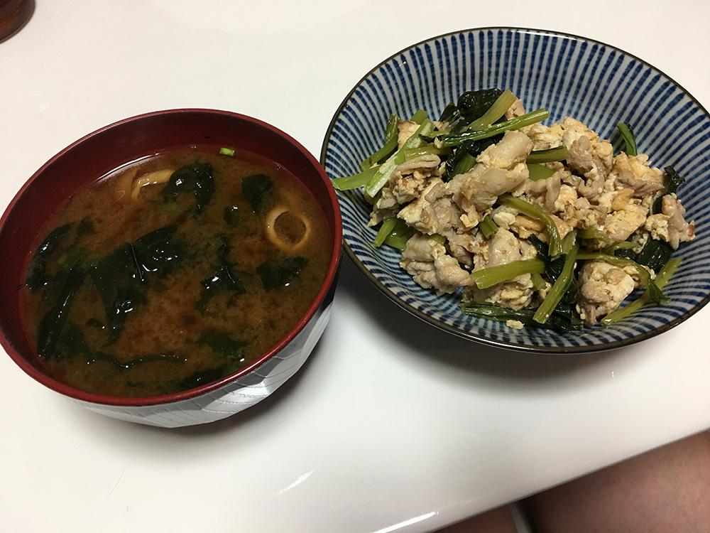 6月22日(木)夜ご飯