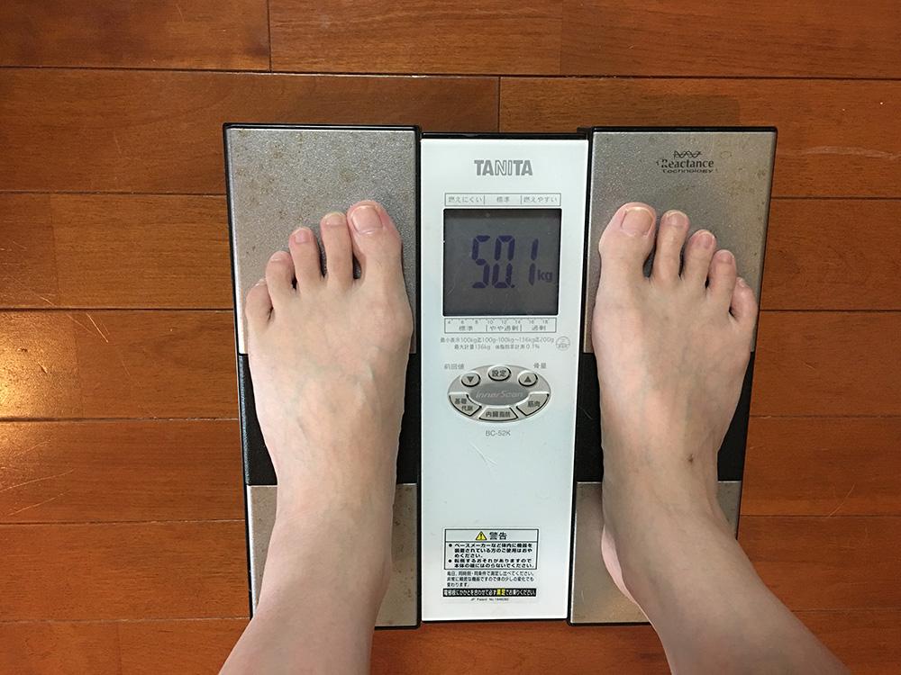 6月27日(火)今朝の体重