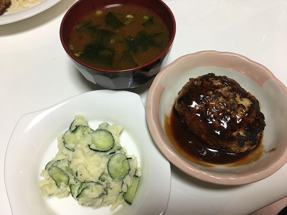 6月30日(金)夜ご飯