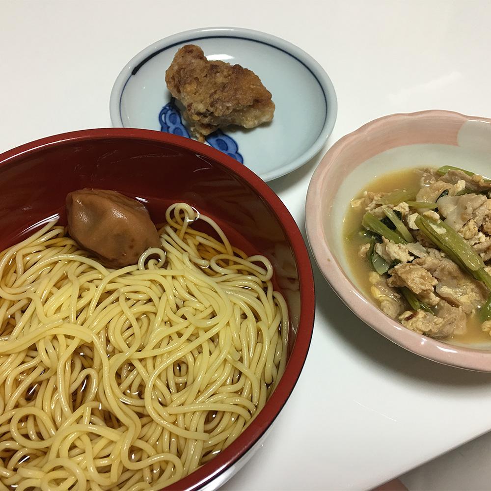 7月7日(金)昼ご飯