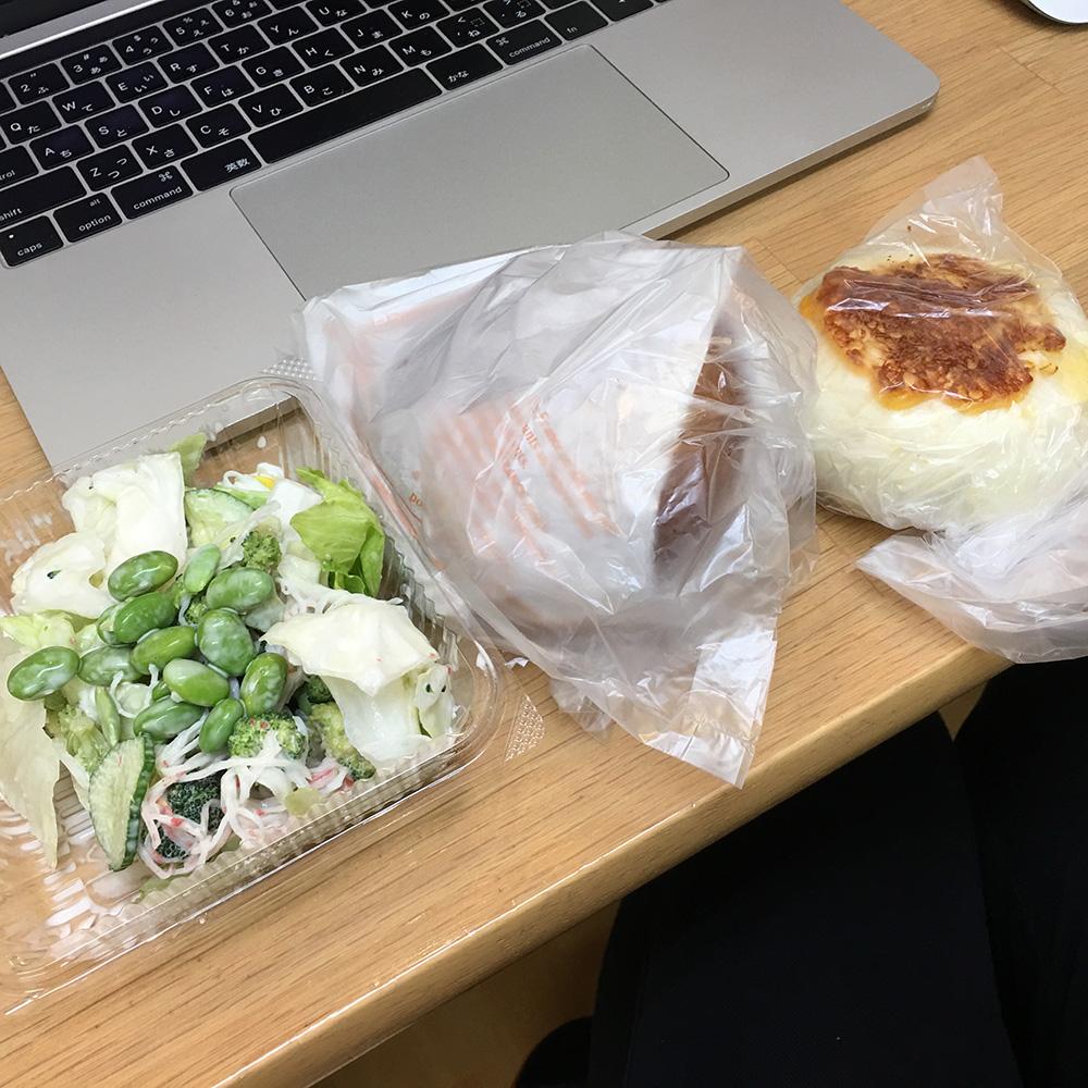 7月10日(月)昼ご飯