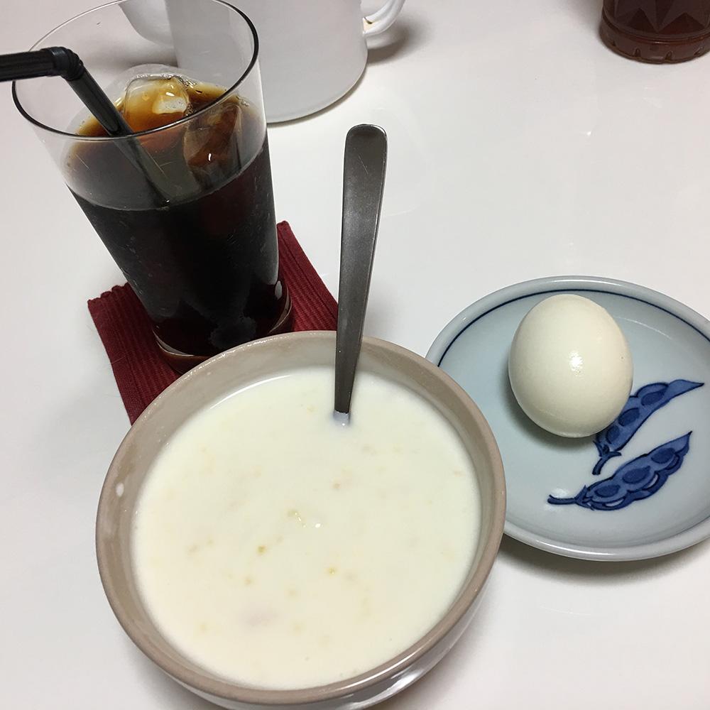 12日(水)朝ご飯