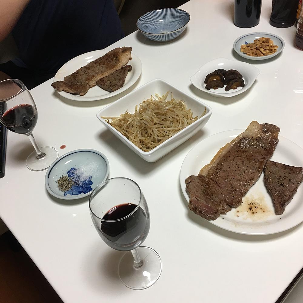 7月12日(水)夜ご飯