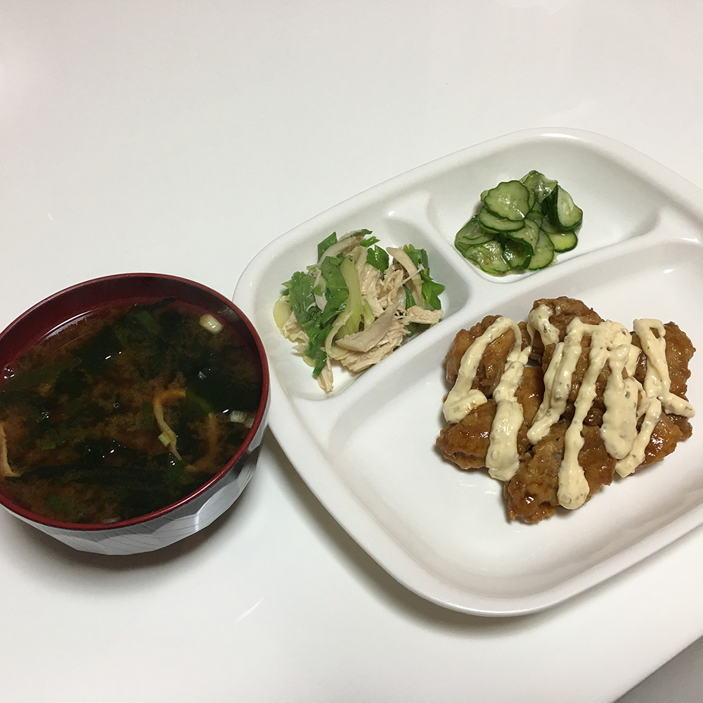 7月18日(火)昼ご飯
