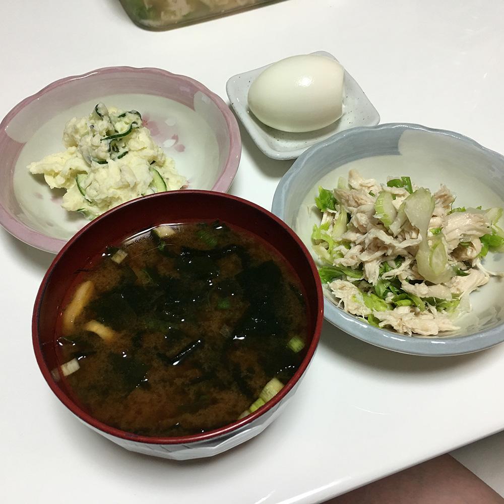 7月24日(月)夜ご飯