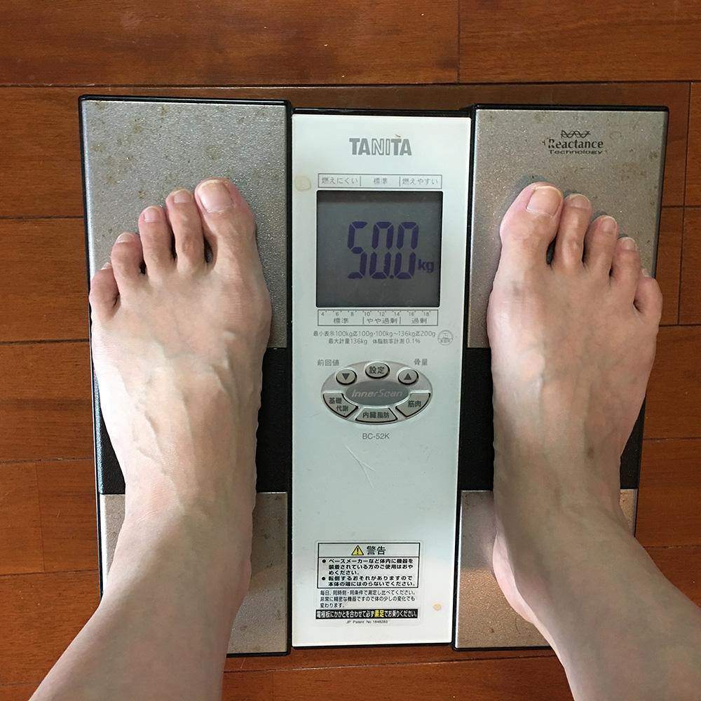 7月26日(火)今朝の体重