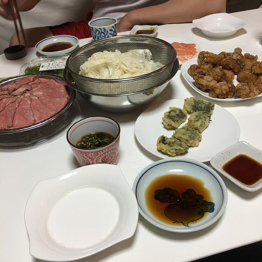 7月27日(木)夜ご飯
