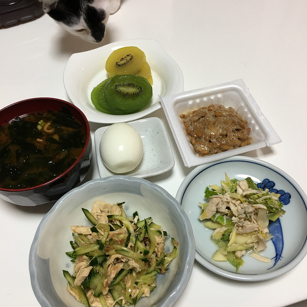 8月1日(火)昼ご飯