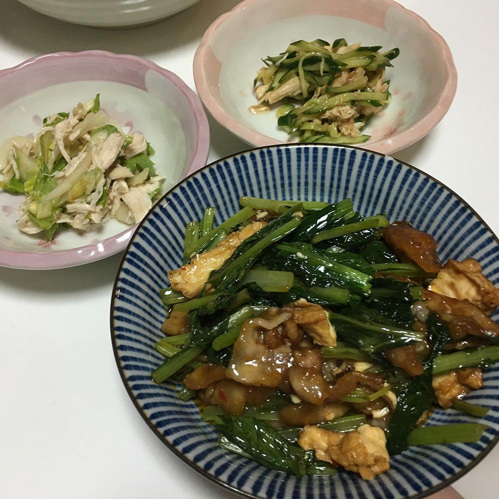 8月1日(火)夜ご飯
