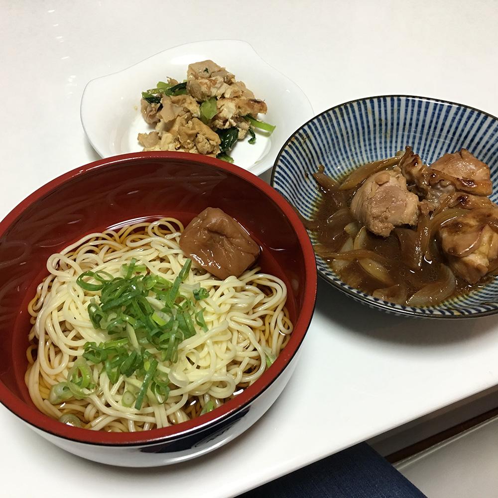 8月4日(金)昼ご飯