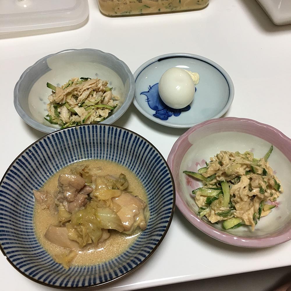 8月8日(火)夜ご飯
