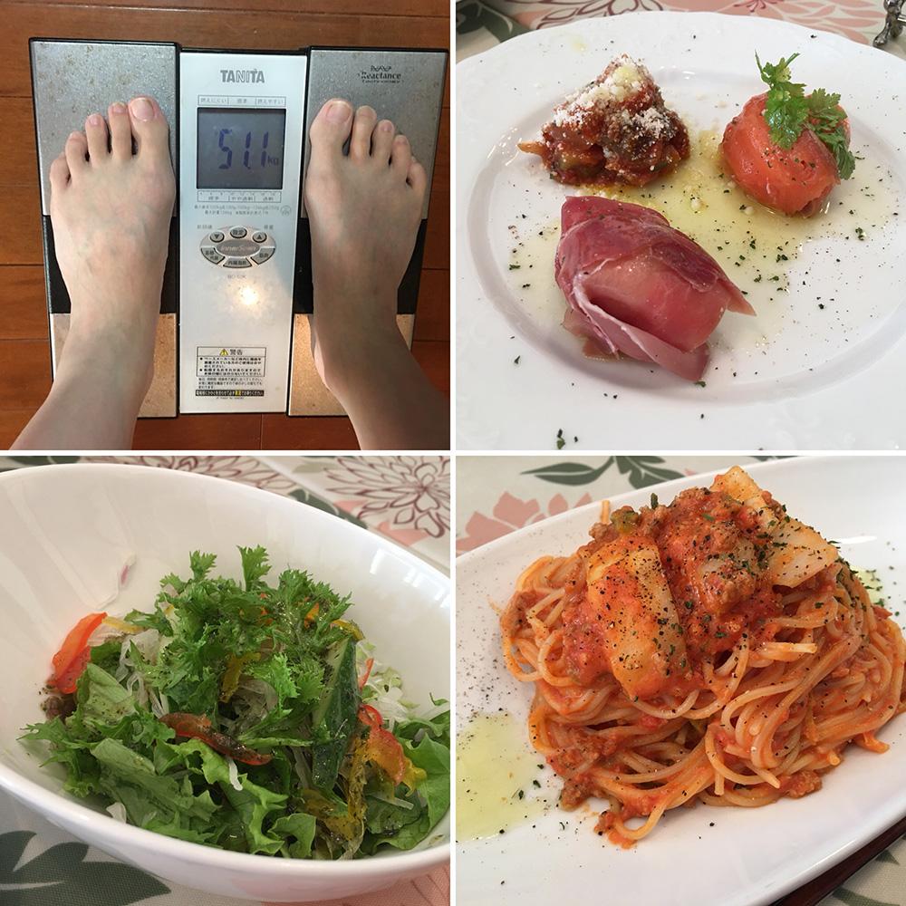 11月4日(土)今朝の体重と昨日のご飯