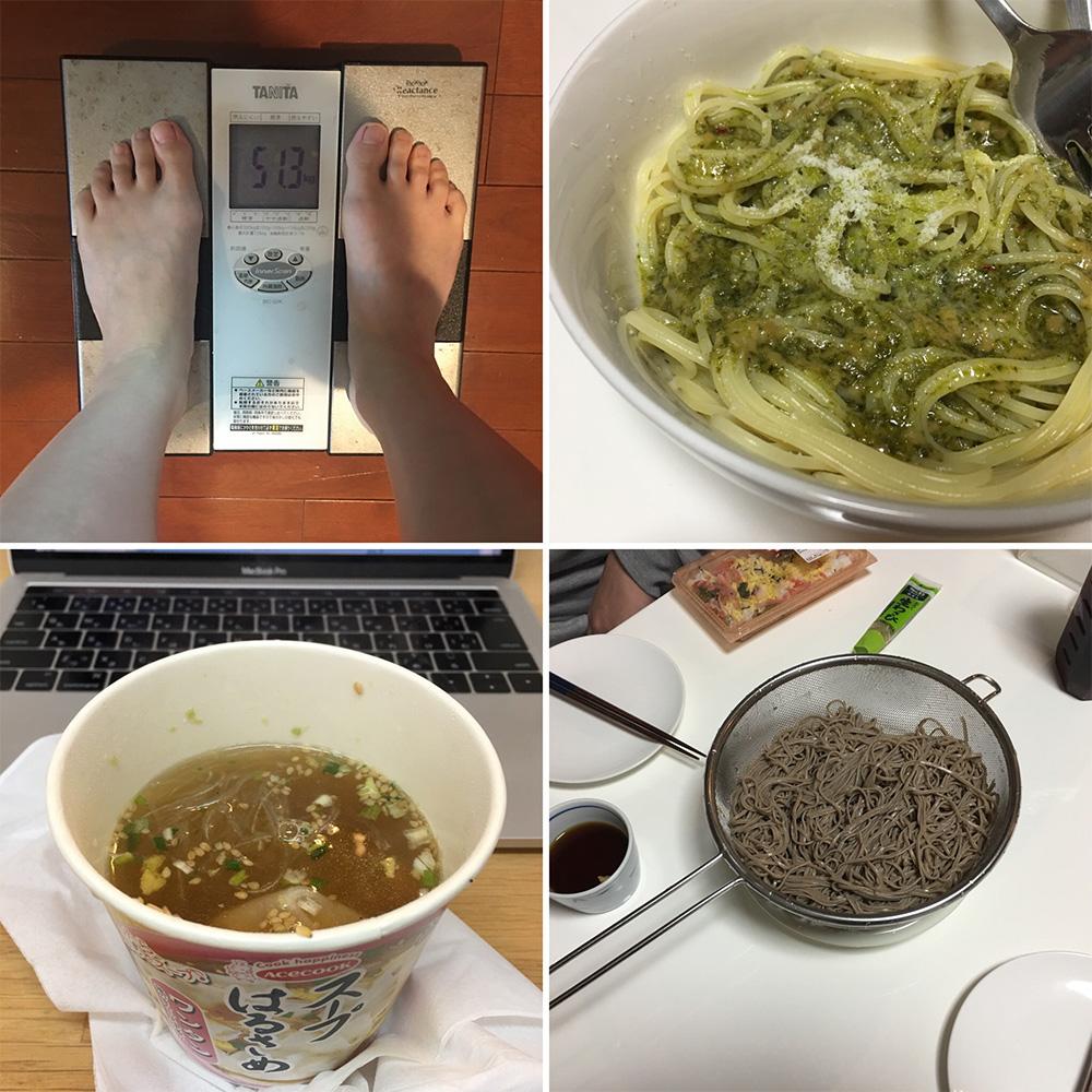 平成29年12月30日(土)今朝の体重と昨日のご飯